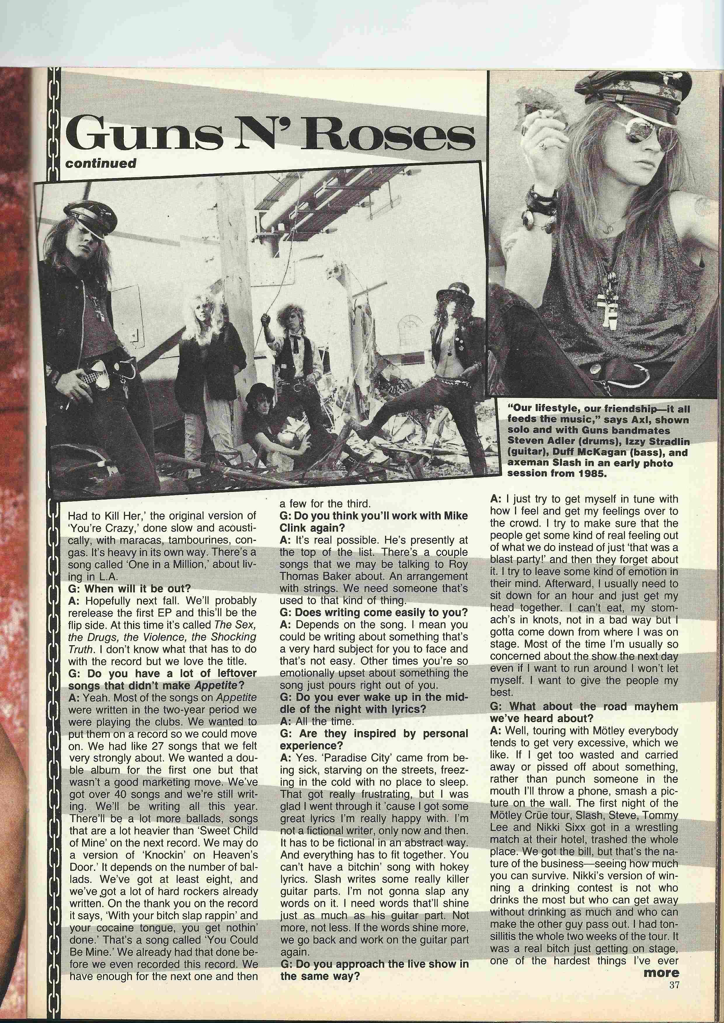 1988.06.DD - Metal Edge - Smokin' Guns N' Roses Interview (Axl) Scan0027