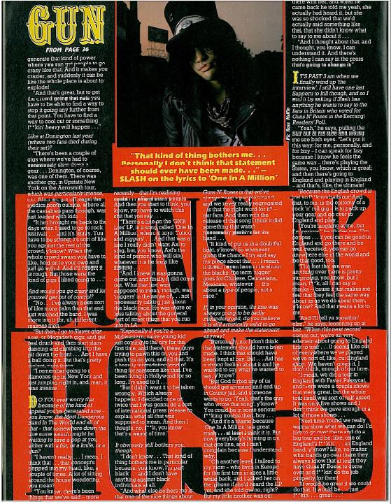 1989.04.22 - Kerrang! - Gun In A Million (Slash) Uten_144
