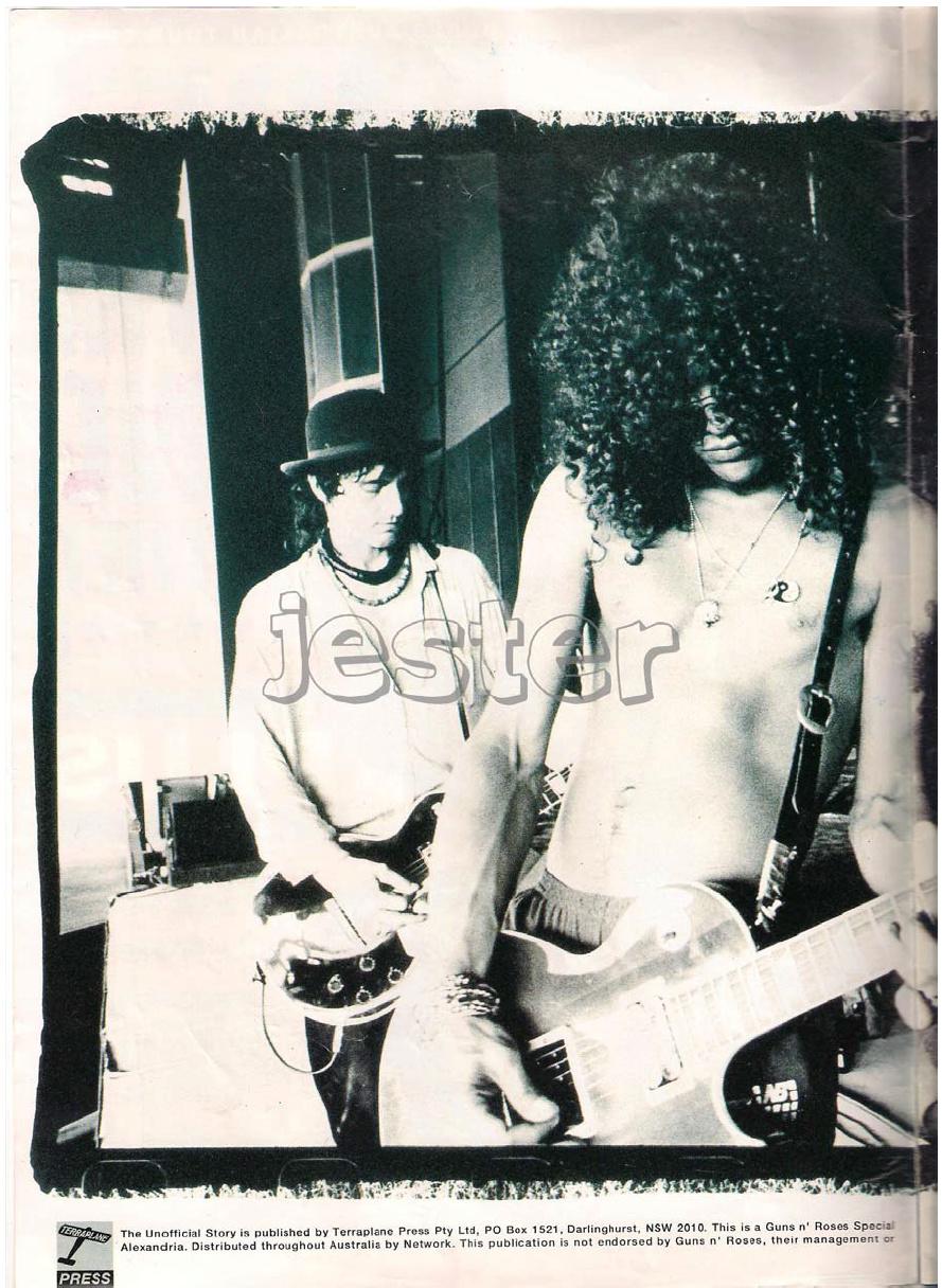 1993.01.DD - Guns N' Roses Australian Tour Special Uten_n14