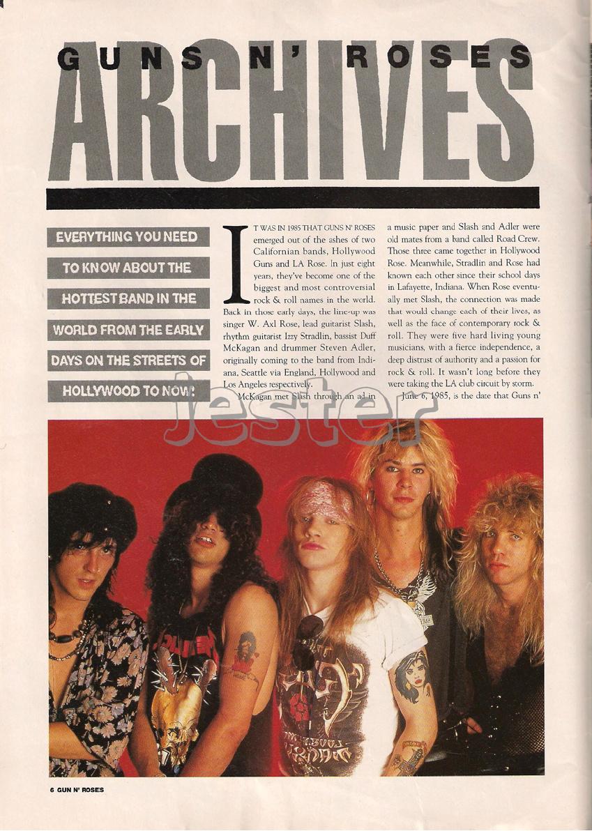 1993.01.DD - Guns N' Roses Australian Tour Special Uten_n16