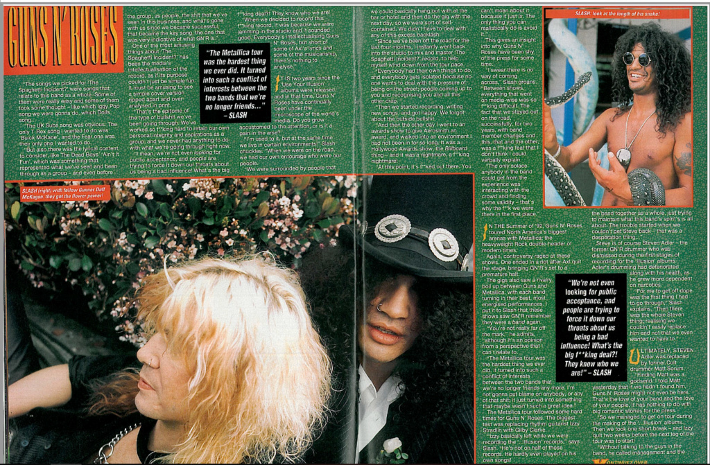 1994.01.08 - Kerrang! - Get Outta The Ring! (Slash) Uten_n23