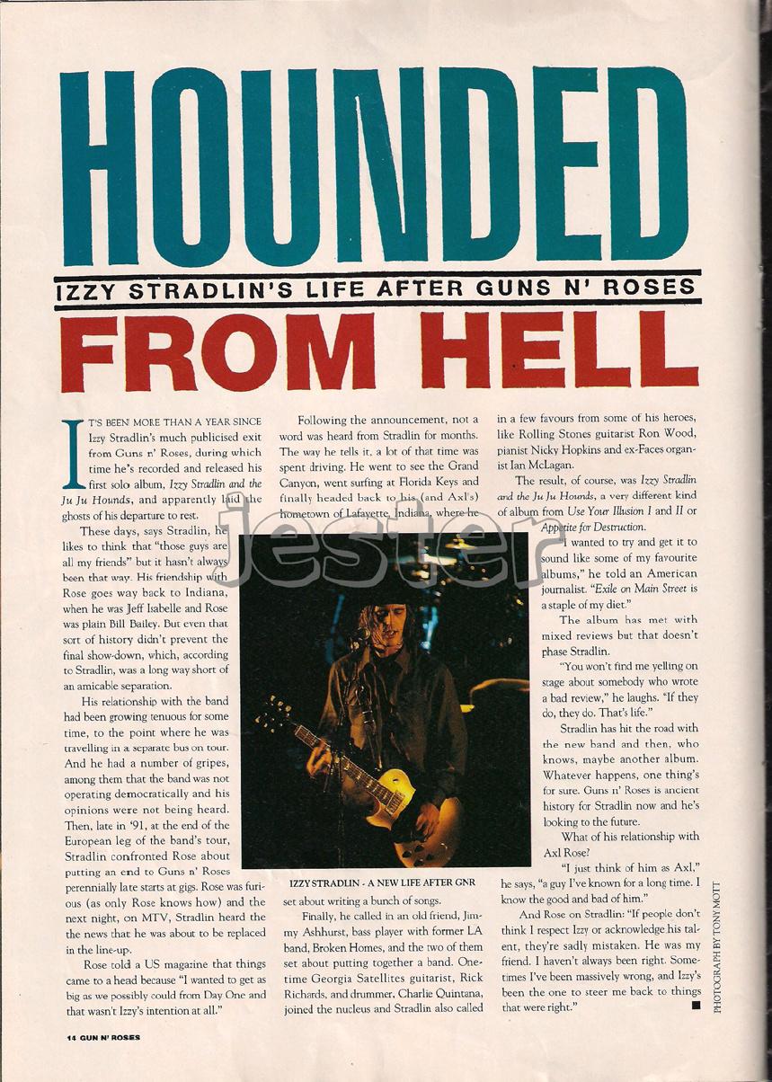 1993.01.DD - Guns N' Roses Australian Tour Special Uten_n25