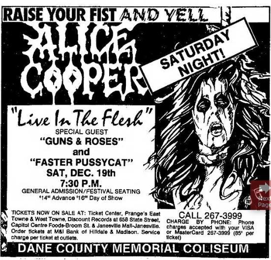 1987.12.19 - Dane County Coliseum, Madison, USA Uten_n27