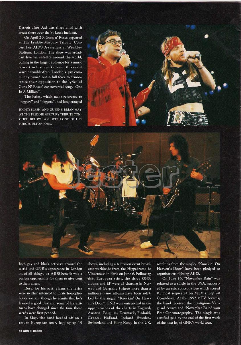 1993.01.DD - Guns N' Roses Australian Tour Special Uten_n32