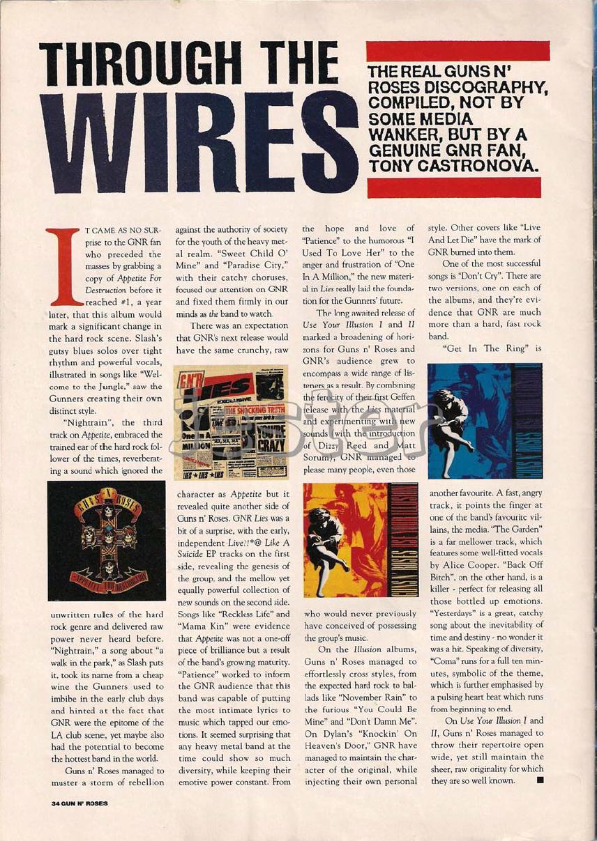1993.01.DD - Guns N' Roses Australian Tour Special Uten_n35