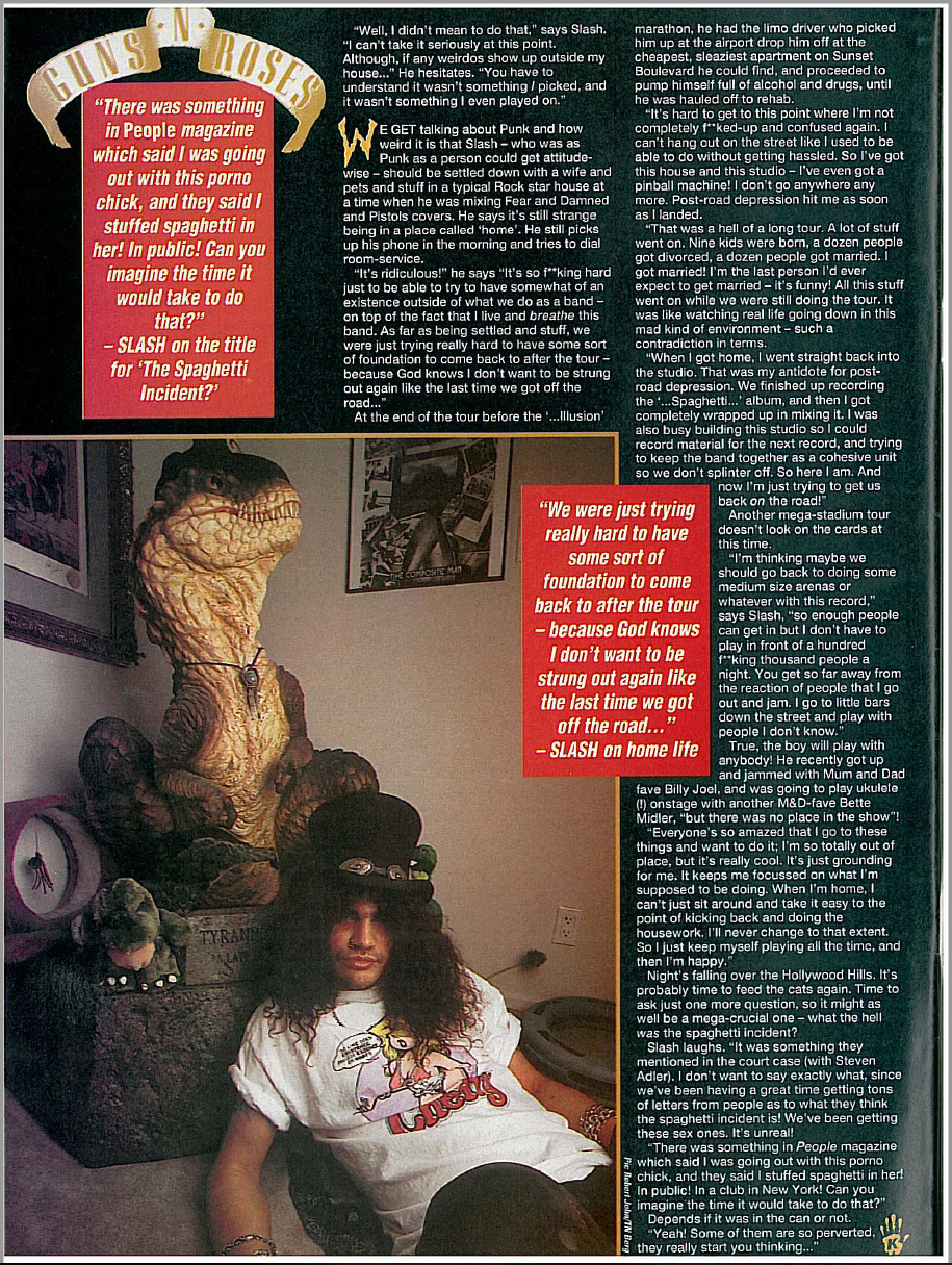 1994.03.12 - Kerrang! - Home Sweet Home (Slash) Uten_n41