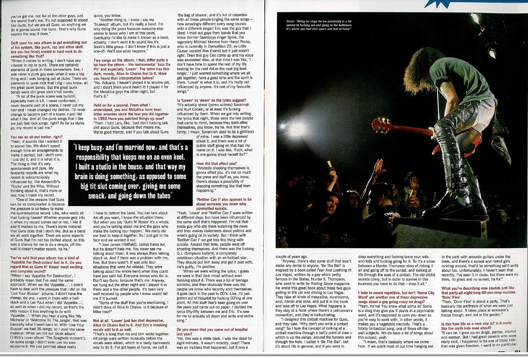 "1995.02.DD - Metal Hammer - ""I Was Dead For 8 Minutes"" (Slash) Uten_n60"