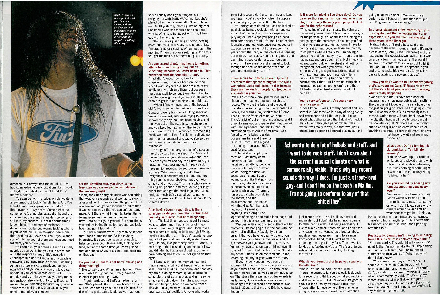 "1995.02.DD - Metal Hammer - ""I Was Dead For 8 Minutes"" (Slash) Uten_n63"