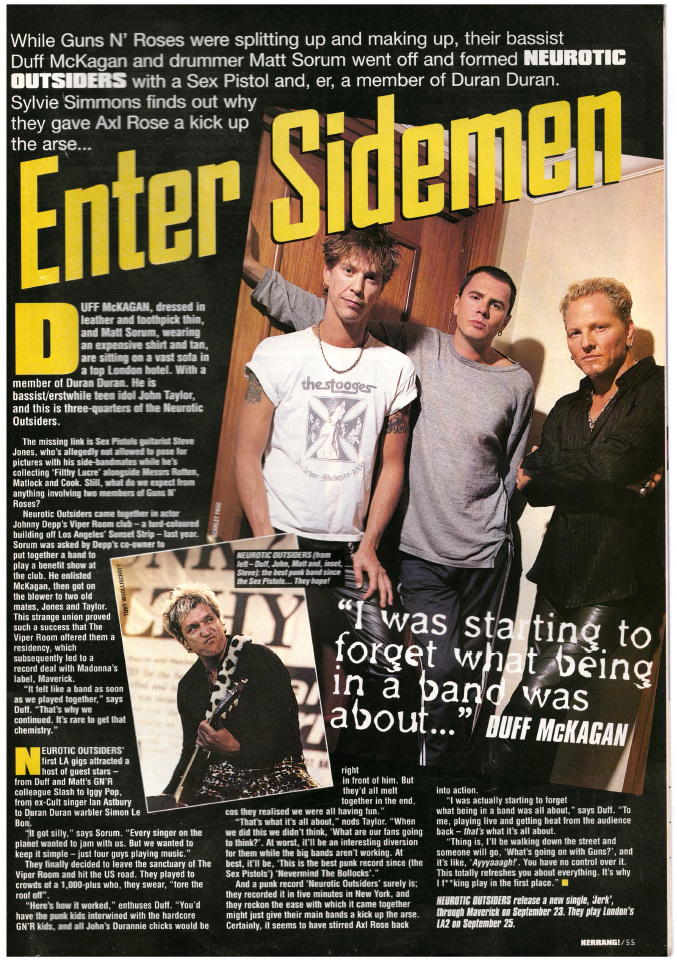 1996.09.14 - Kerrang! Enter Sidemen (Duff) Uten_n73