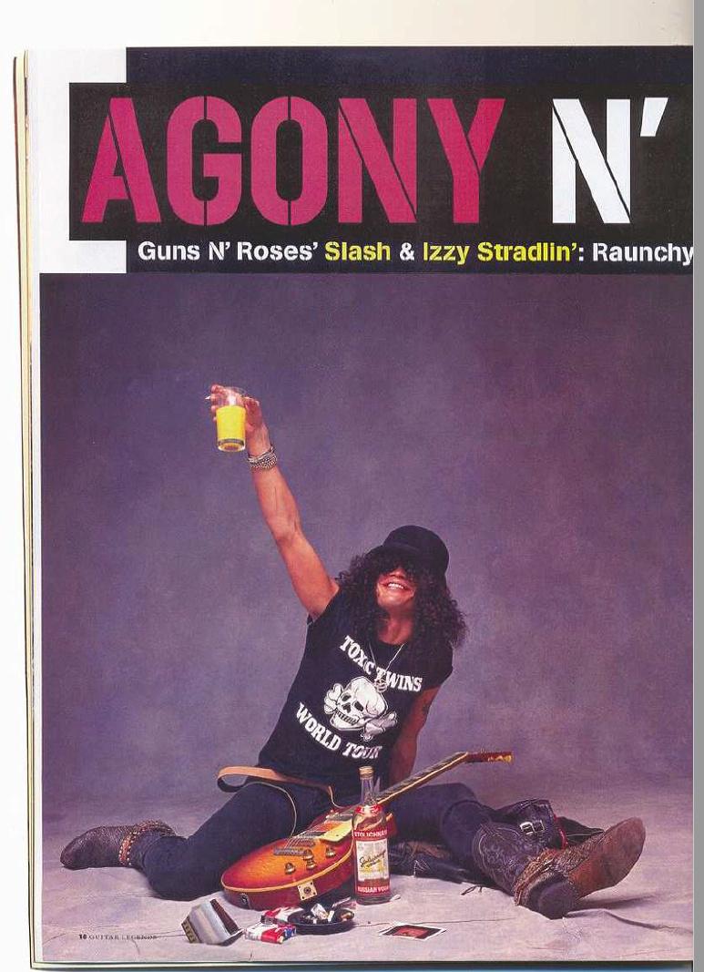 1989.03.DD - Guitar World - Agony n' Excesses (Slash and Izzy) Uten_n86