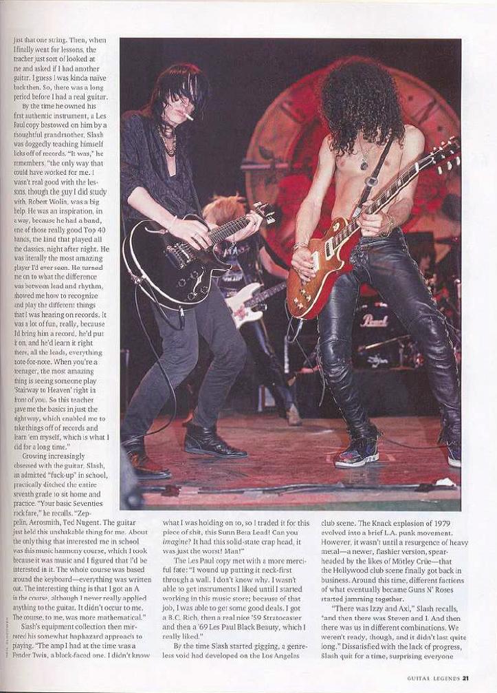1989.03.DD - Guitar World - Agony n' Excesses (Slash and Izzy) Uten_n89