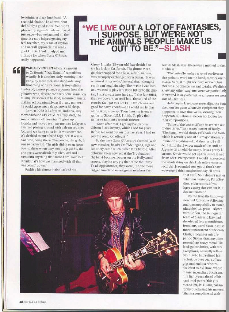 1989.03.DD - Guitar World - Agony n' Excesses (Slash and Izzy) Uten_n90