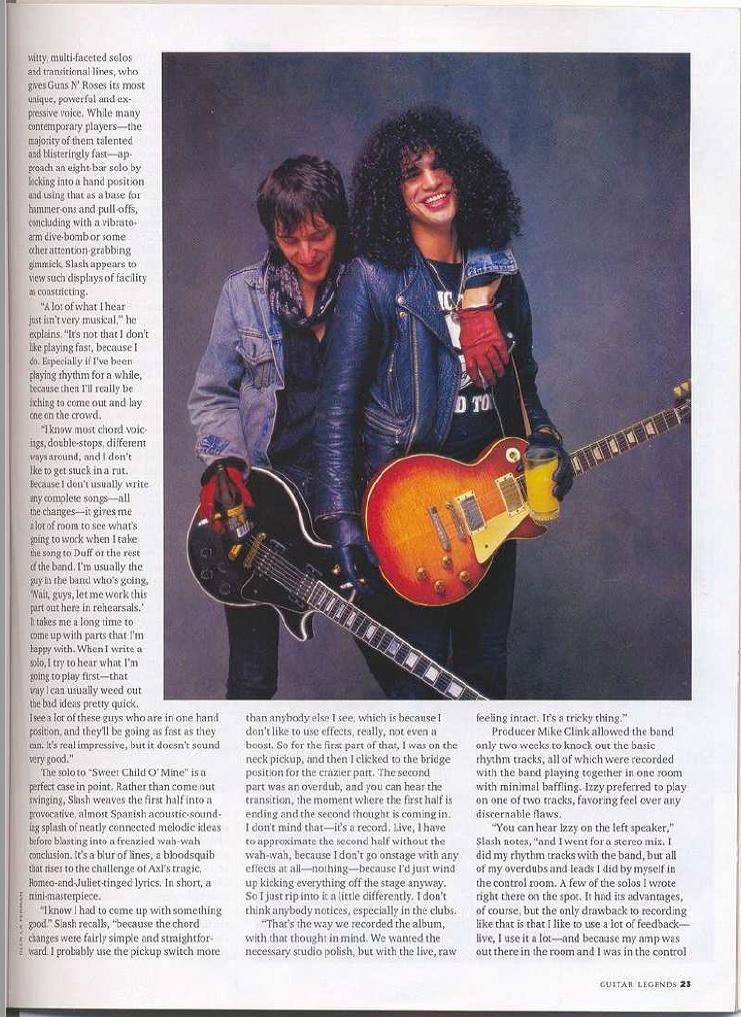 1989.03.DD - Guitar World - Agony n' Excesses (Slash and Izzy) Uten_n91