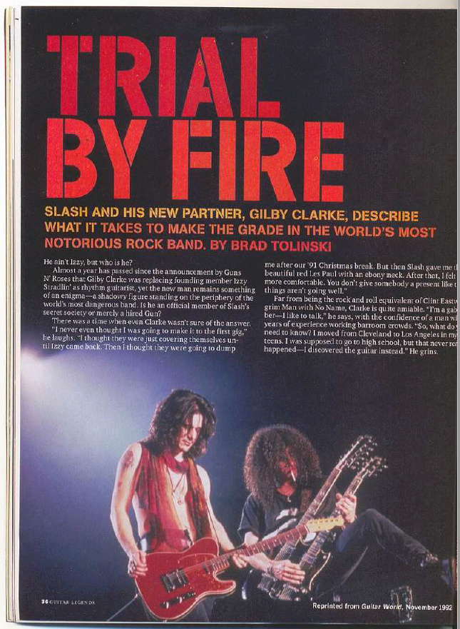 1992.11.DD - Guitar World - Trial By Fire (Slash, Gilby) Uten_n94