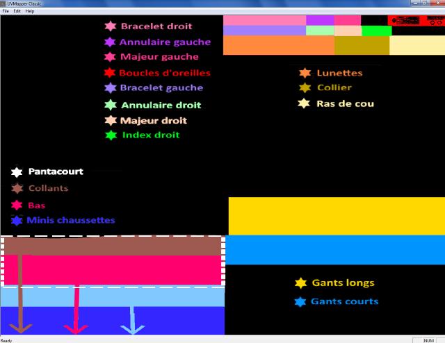 [Fiche] Place des éléments dans l'uvmap Sans_t11