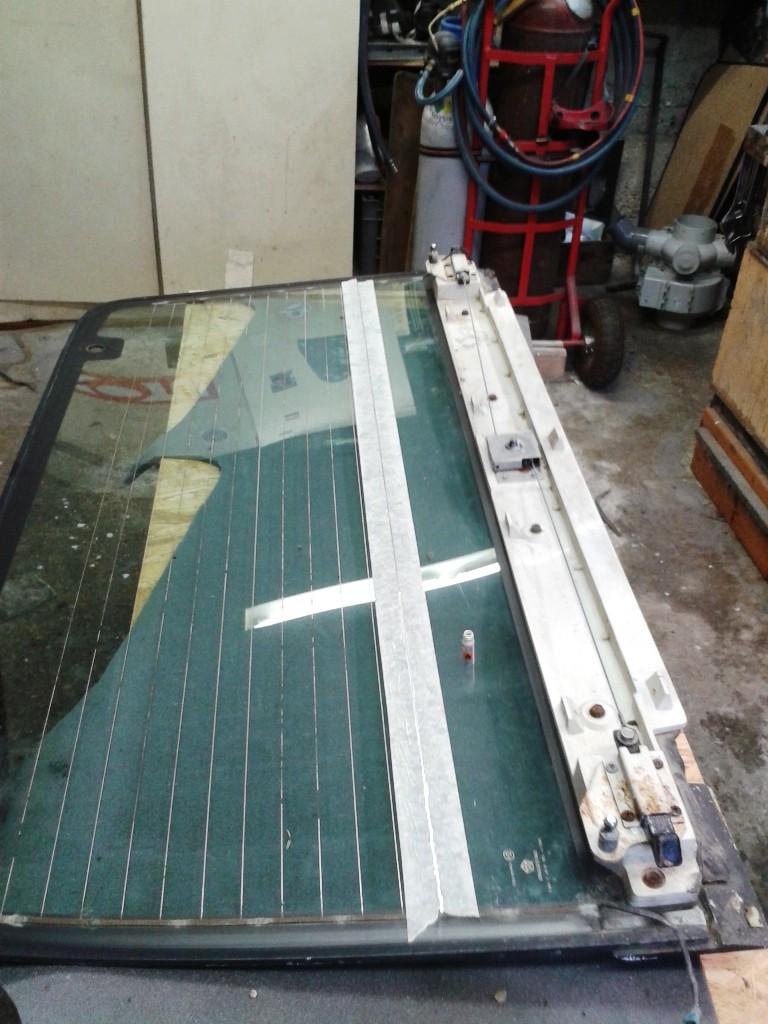 Testé pour vous: réparation d'un dégivrage arrière 20141111