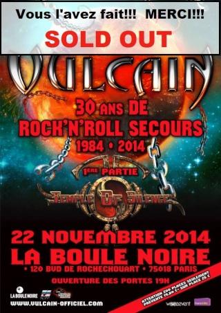Vulcain à La Boule Noire (Paris) le 22 nov 2014 22_nov10