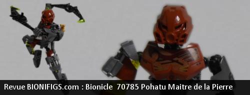 [Revue] LEGO Bionicle 70785 : Pohatu, Maitre de la Pierre Review10