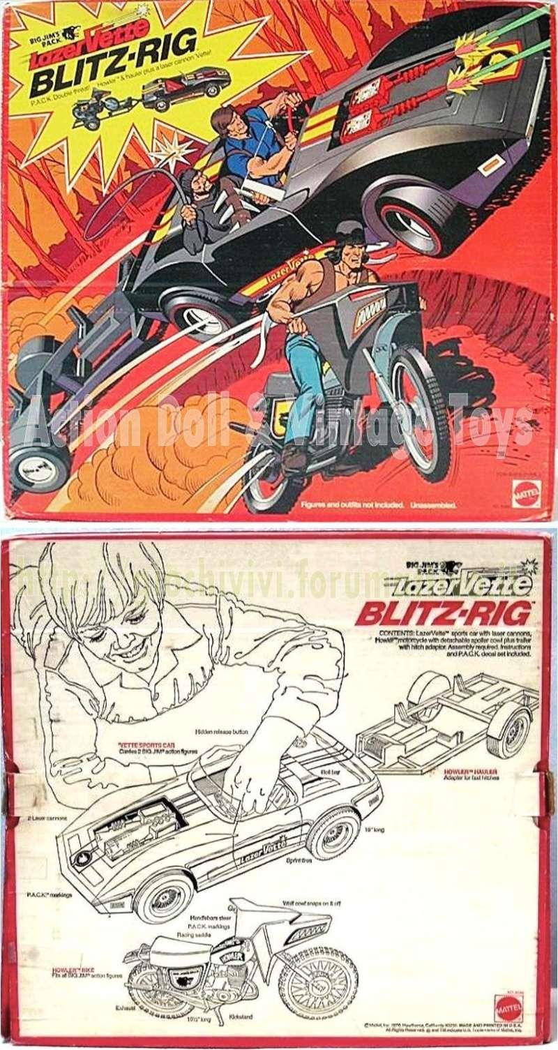 Lazervette Blitz Rig P.A.C.K. No 9590 0110