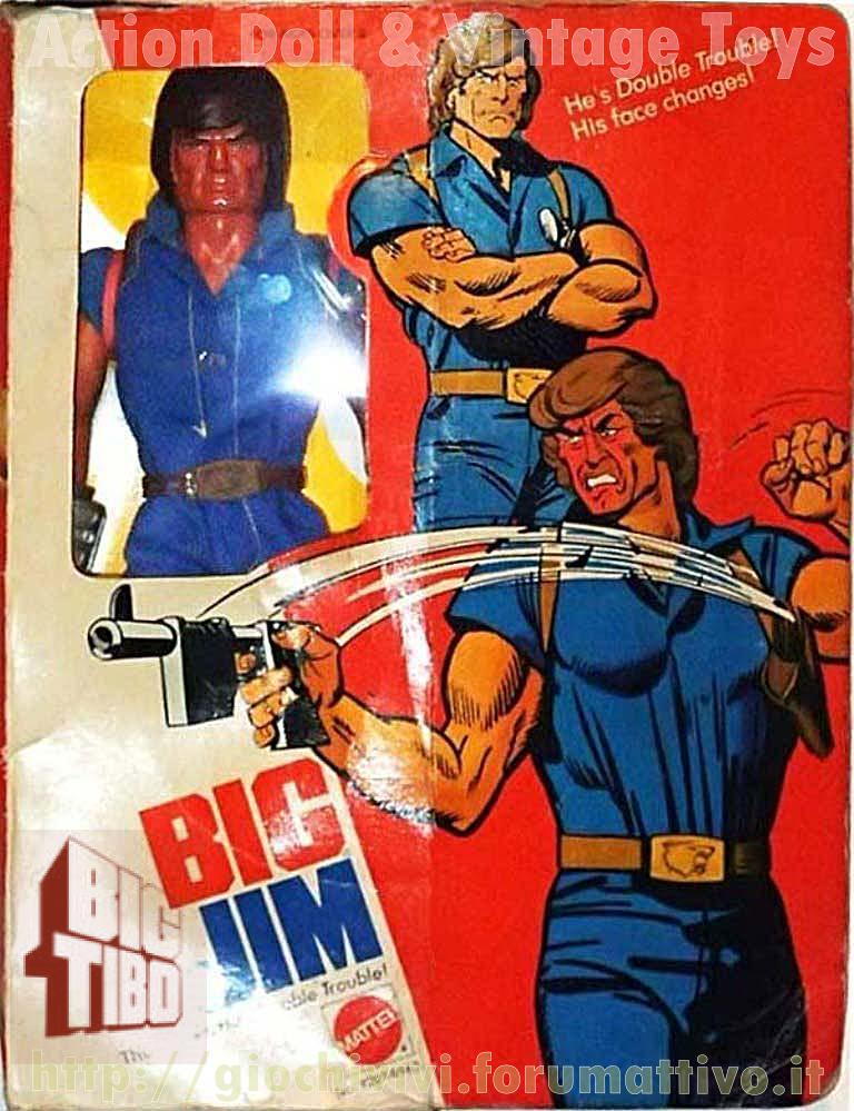 BIG JIM Double Trouble No. 9287-9963 Dt_92810