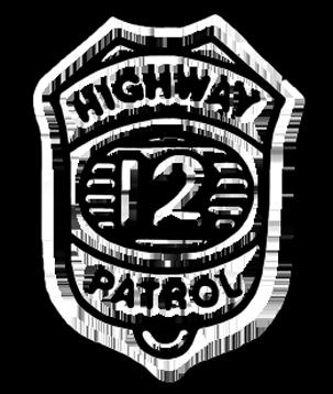 stella sceriffo e distintivo polizia Highwa10