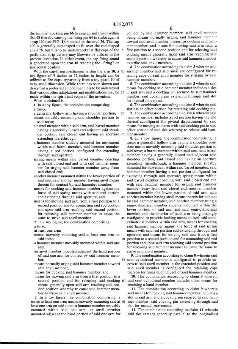 Istruzioni meccanismo braccio sandokan Us418215