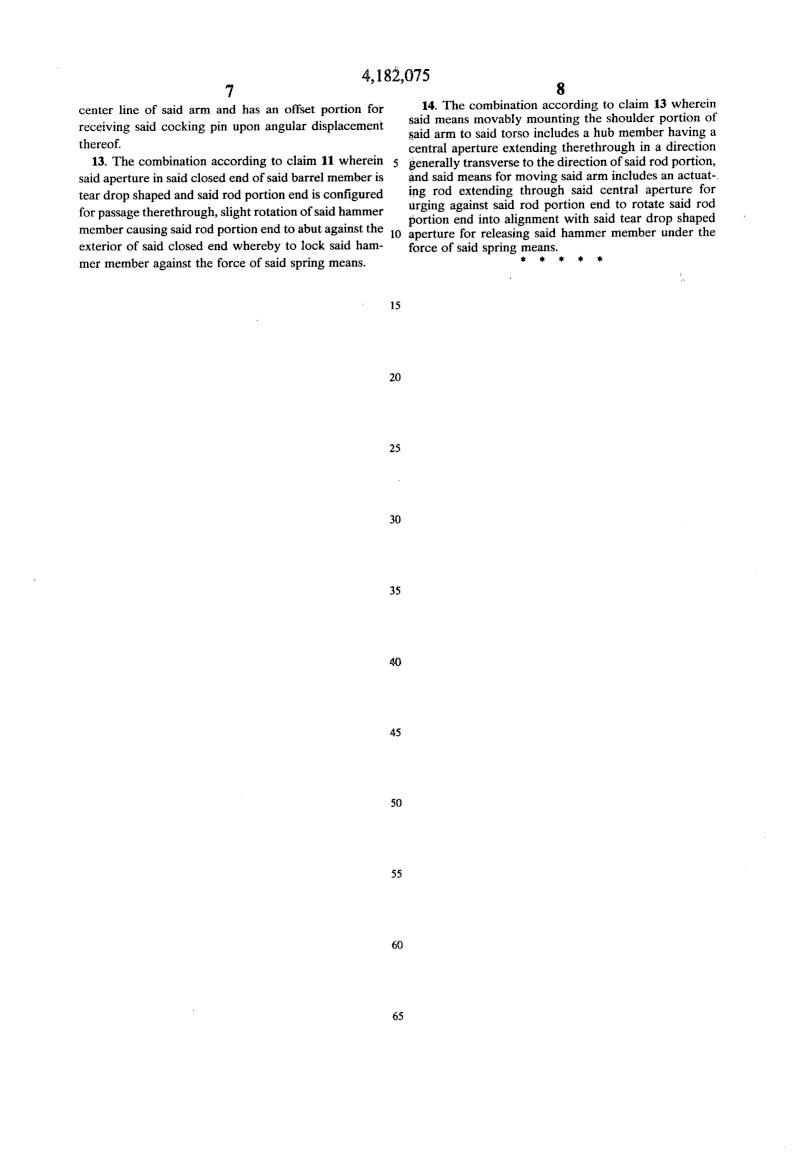 Istruzioni meccanismo braccio sandokan Us418216