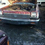 1973 Chevelle Being Parted 73chev10