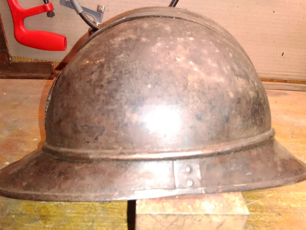 casque Adrian 1915 WW1 première guerre mondiale 14/18, attribut de l'armée siamo Img_2014