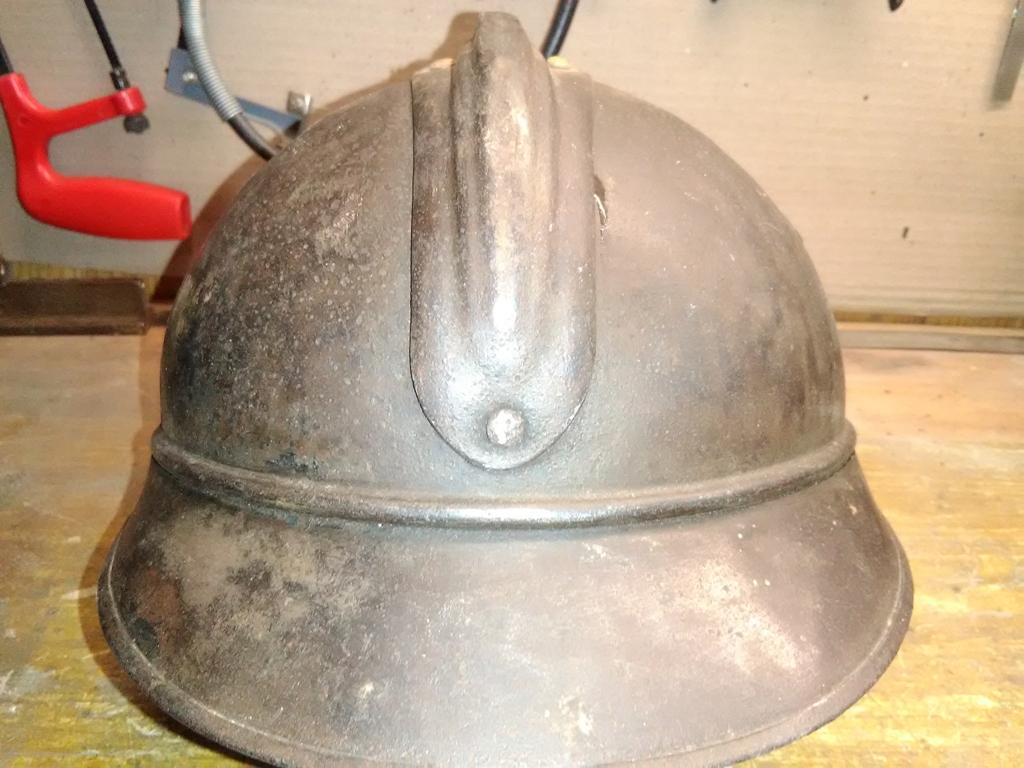 casque Adrian 1915 WW1 première guerre mondiale 14/18, attribut de l'armée siamo Img_2015