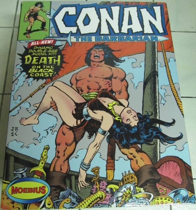 Conan the Barbarian : Death on the black coast 1/6. Img_5713