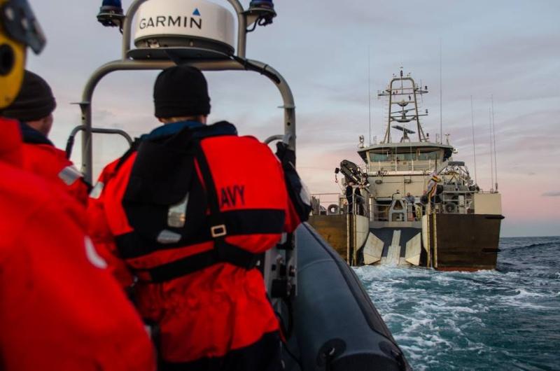mission Garde-pêche du P 901 Castor Castor11