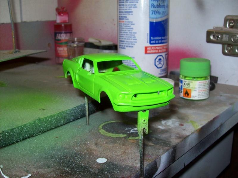 Mustang 1968 slot car  Mustan10