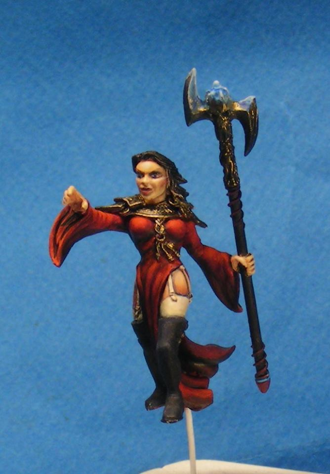 Nécromante de Morgar : Yliad games 32mm (the end) 10846410