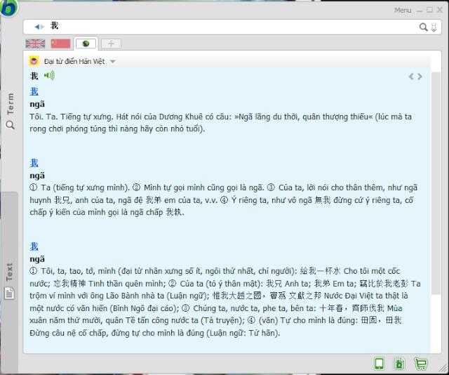 Phần mềm Babylon 10 - Từ điển dịch thuật hàng đầu thế giới  Term_210