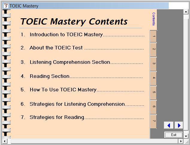 Phần mềm luyện thi TOEIC MASTERY 1.2 Toeic_10