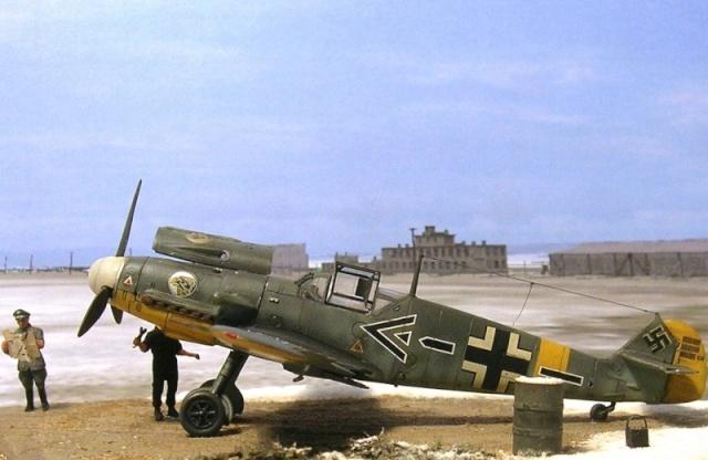 rétro 2014 Bf109f10