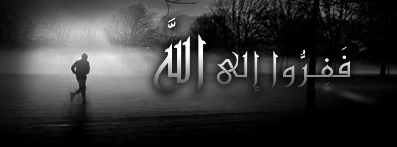 قوله تعالى﴿ فَفِرُّوا إِلَى اللَّهِ إِنِّي لَكُمْ مِنْهُ نَذِيرٌ مُبِينٌ ﴾  211