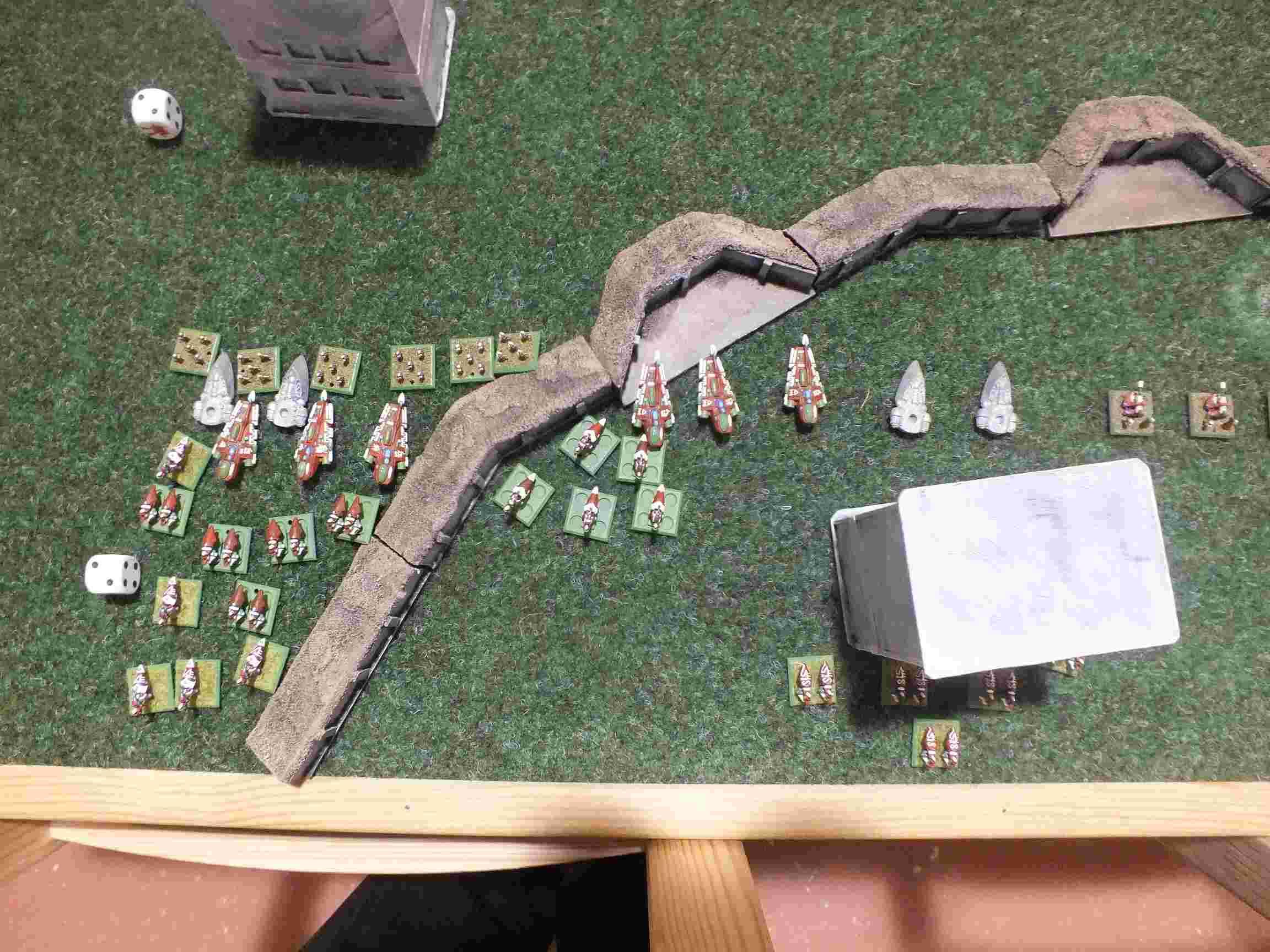 Et au milieu coule une rivière (GI vs Eldars à 8000 points) Dscf2325