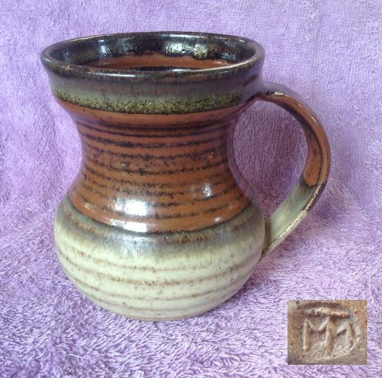 Mike Truebridge mugs in two glazes Mug_mt10