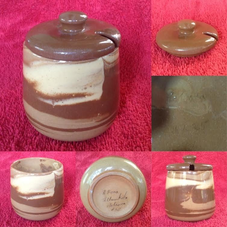 Te Rona small pot, #25 and lid #225 Terona10