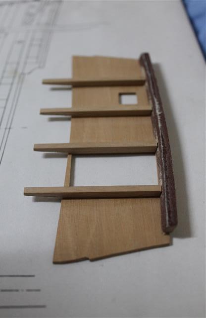 La Belle 1684 scala 1/24  piani ANCRE cantiere di grisuzone  - Pagina 3 Img_5310