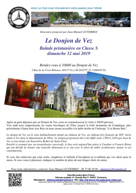 Dim 12 mai 2019 : Le Donjon de Vez - Balade Printanière en Classe S 2019_011