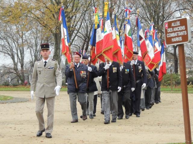 Les cérémonies du 5 décembre à PARIS, pour l'hommage aux morts de la guerre d'ALGERIE et des combats du MAROC et de TUNISIE Dscn5410