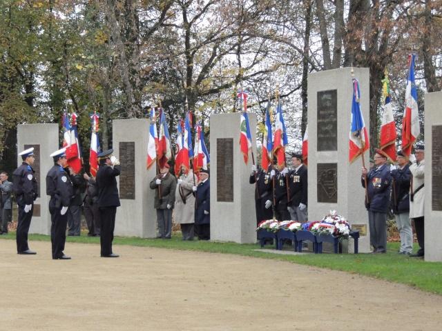 Les cérémonies du 5 décembre à PARIS, pour l'hommage aux morts de la guerre d'ALGERIE et des combats du MAROC et de TUNISIE Dscn5412