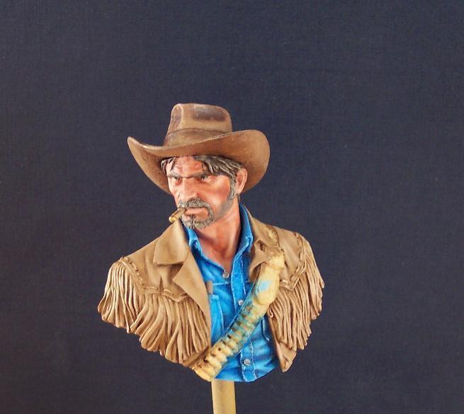 Wild West Young Miniatures Büste in 1/10 Jacke010