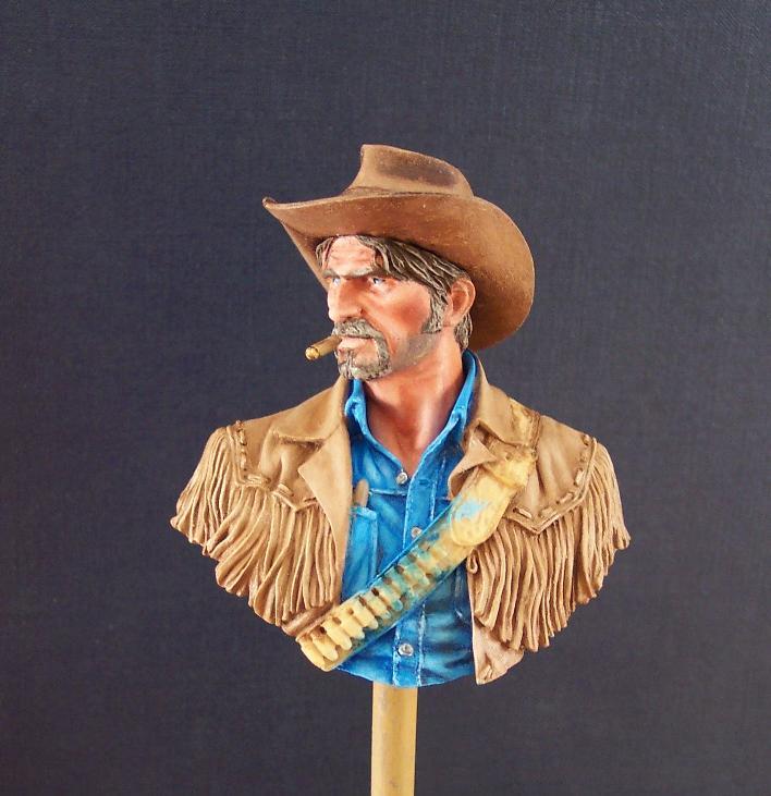 Wild West Young Miniatures Büste in 1/10 Jacke012