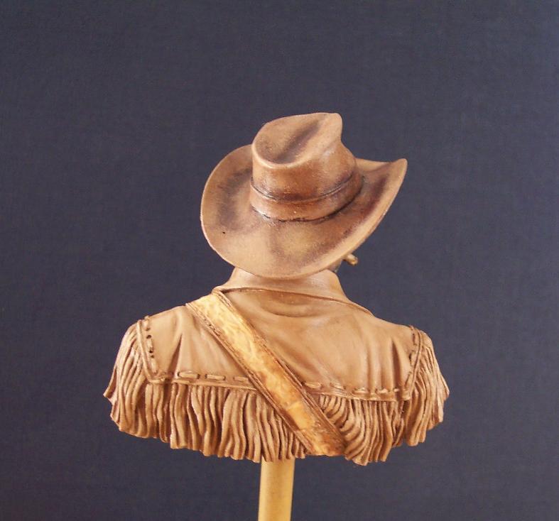 Wild West Young Miniatures Büste in 1/10 Jacke013