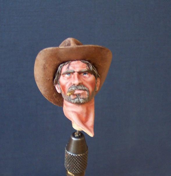 Wild West Young Miniatures Büste in 1/10 Kopf0110