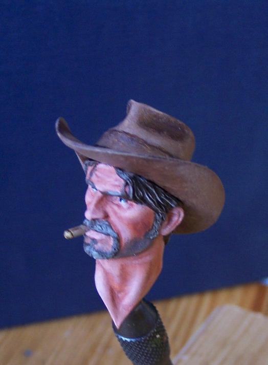 Wild West Young Miniatures Büste in 1/10 Kopf0510